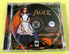 American McGee's Alice ~ PC CD Rom Game ~ 2000 Windows Computer Mature Horror