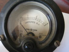General Electric Ampere Rf Current Meter Dw52 Model 8dw52abn12