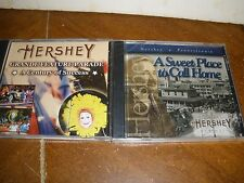 lot of 2 Hershey Chocolate PA DVDs A Sweet Place to Call Home (NEW) & Century of