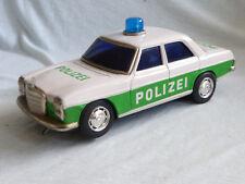 Taiyo Mercedes W115 /8 Polizei Blech Auto Tin Toy 70er Jahre 26 cm Made in Japan