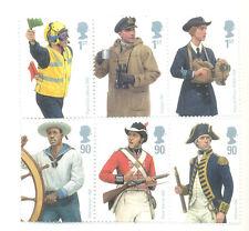 Great Britain Royal Navy uniforms mnh set