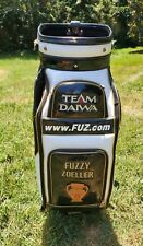 Fuzzy Zoeller Real Used Genuine Tour Bag - Signed/Autographed - PGA Golf Bag