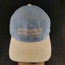 Emery Worldwide Vtg Denim Hat