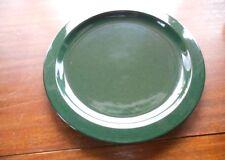 """Mikasa Chromatic Hunter Green Round Platter 12"""" Wide"""