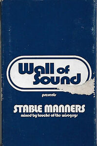 Various Stable Manners CASSETTE PROMO Acid Jazz, Drum n Bass, Future Jazz mixed