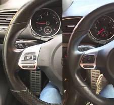 Kit Rigenera Colore Volante auto Pelle Audi Q NERO Ritocco Interni usura Spalla