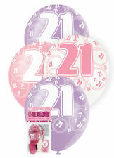 Birthday, Adult Round Party Standard Balloons