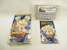 DRAGON BALL Z HYPER DIMENSION Item REF/9347 Super Famicom Nintendo Japan Game sf