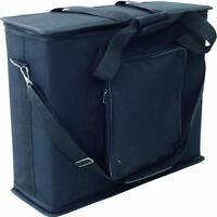 """3 HE 19"""" Rackbag sw Racktasche Gigbag Rack Flightcase Rack-Bag Softcase NEU"""