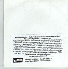 (CU897) Animal Collective, Today's Supernatural - 2012 DJ CD
