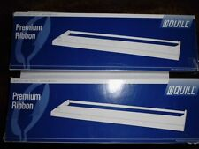 Lot of 2 New Quill Black Premium Ribbon for Vintage Epson LQ800 Printer
