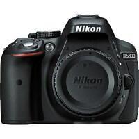Nikon D5300 Digital SLR Camera - Black