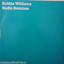 "ROBBIE WILLIAMS ~ Radio REMIXES ~ 12"" Single PS"