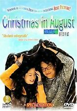 Christmas in August (DVD, 2005 Special Edition) Jin Ho Korean Romance NEW SEALED