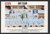 Daily Mirror - My Club Redemption Card 1971 - Chester