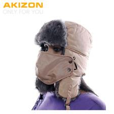 Akizon Alta Calidad Gorro Trapper de prueba de invierno cálido mujeres Sombrero De Aviador Color sólido