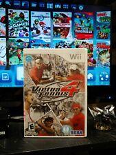 Virtua Tennis 4 (Nintendo Wii, 2011)CLEANED TESTED WORKS....
