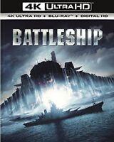 Battleship (4K UHD Blu-ray + Blu-ray+ Digital Download) [2012] [DVD][Region 2]