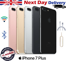 Apple iPhone 7 Plus 32GB 128GB 256GB All Colours Unlocked Smartphone Uk Seller