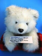 MJC Purr-Fection White Bear With Black Frosted Tipped Fur(310-3306-1)
