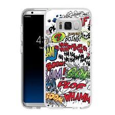 Coque Etui Samsung S 8 Plus - Motif Comics