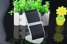 Bluetooth Wreless Handsfree Car Kit Solar Charging Speakerphone for Mobile Phone