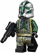 LEGO Star Wars Minifigure Clone Commander Gree & Weapon 75234 **New**