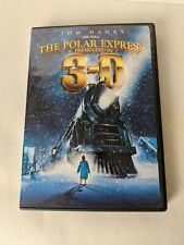 The Polar Express (3D, DVD, 2008, 2-Disc) With 4 Pairs Of 3D Glasses