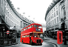 3D Effect Lenticular Printing Moving Picture Wall Decor *London - Regent Street*