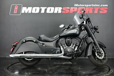 2018 Indian Motorcycle Springfield Dark Horse Abs Thunder Black Smoke