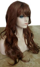 Forever Young Sugar Rush Wig (Color 27W Auburn Red) Extra Long Bangs Wavy