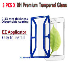 3pcs x Tempered Glass Screen protector with EZ Applicator for iPhone 6Plus i6PG3