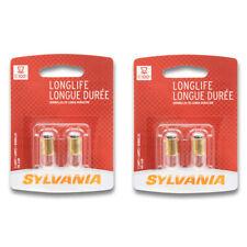 Sylvania Long Life - Two 2 Packs - 1893LL Light Bulb Auto Trans IndicatClock ca