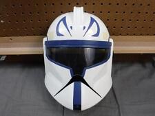STAR WARS Plastic CAPTAIN REX CLONE TROOPER Mask Helmet costume cosplay Used