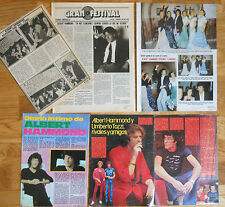 ALBERT HAMMOND spanish clippings 1970s/80s magazine photos cuttings