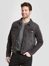 Stylish Classic Black Denim Jacket (Stretch)