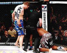 Matt Mitrione Signed UFC 8x10 Photo BAS Beckett COA Fight Picture Autograph 113