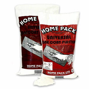 Homepack Universal One-Coat Finishing Plaster -  in Easy Manageable Sized Bags