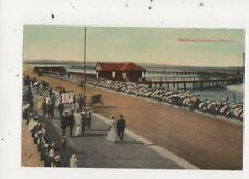 Bathing Enclosure Durban South Africa Vintage Postcard 909a