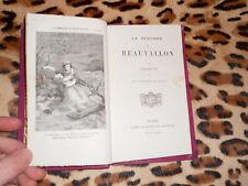LA BERGERE DE BEAUVALLON - Stéphanie Ory - Mame, 1873