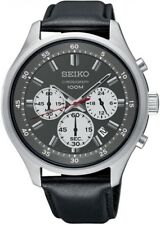 SEIKO SRS595P1 Neo Sport Chronograph 100M Gents 2 Year Guarantee RRP £200.