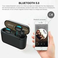 Wireless Bluetooth 5.0 Earbuds Headphones for Apple Airpods iPhone Android