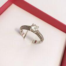 Platinum Diamond Solitaire Engagement Ring Used