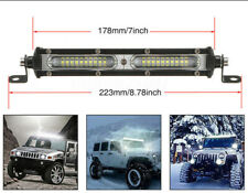 7 Inch 90W LED Work Light Bar Super Slim Spotlight Stripe 18000LM DC 10V-30V 1PC