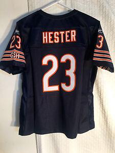 Reebok Women's Premier NFL Jersey Bears Devin Hester Navy sz L