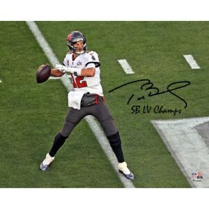 8x10 Authentic Tom Brady Autographed Picture From Super Bowl LV $500.00