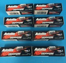 SET OF 8 AUTOLITE IRIDIUM SPARK PLUGS FORD CLEVELAND V8 302 351 FALCON