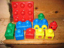 DUPLO LEGO PRIMO CHILDS FIRST WHEELED BASE BOARD ASSORTED CONSTRUCTION BRICKS