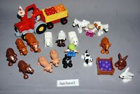 Lego DUPLO Farm Custom Bundle Tractor Animals Figures and parts. Fun play set D