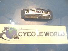 1993_YAMAHA_XV-750_VIRAGO_XV750_FRONT CHROME LOGO COVER_TRIPLE CLAMP COVER